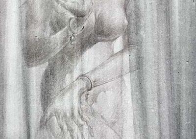 Zeichnung von Dong Dong, Mummy Tattoo, Beijing