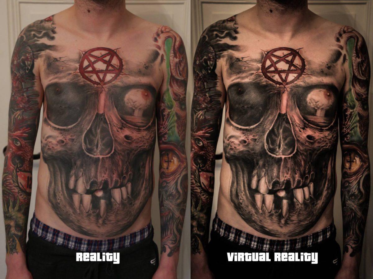 Aufreger der Woche: Real Tattoos vs. Photoshop