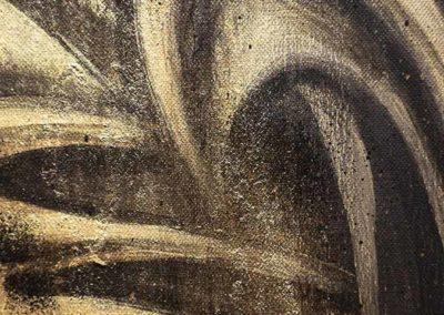 """Impressionen der Ausstellung """"Meditation - Kunst - Gewalt"""" (Foto: Angry Norman)"""