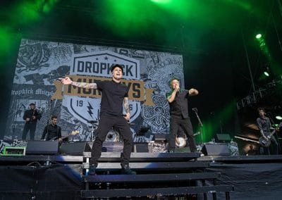 Dropkick Murphys auf dem Greenfield Festival 2019 (Foto: Angry Norman Concert Photography)