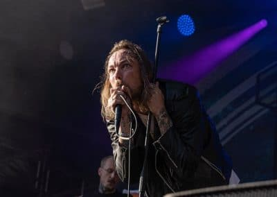 Kvelertak auf dem Greenfield Festival 2019 (Foto: Angry Norman Concert Photography)