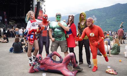 Von Einhörnern und Superhelden: People of Greenfield Festival 2019