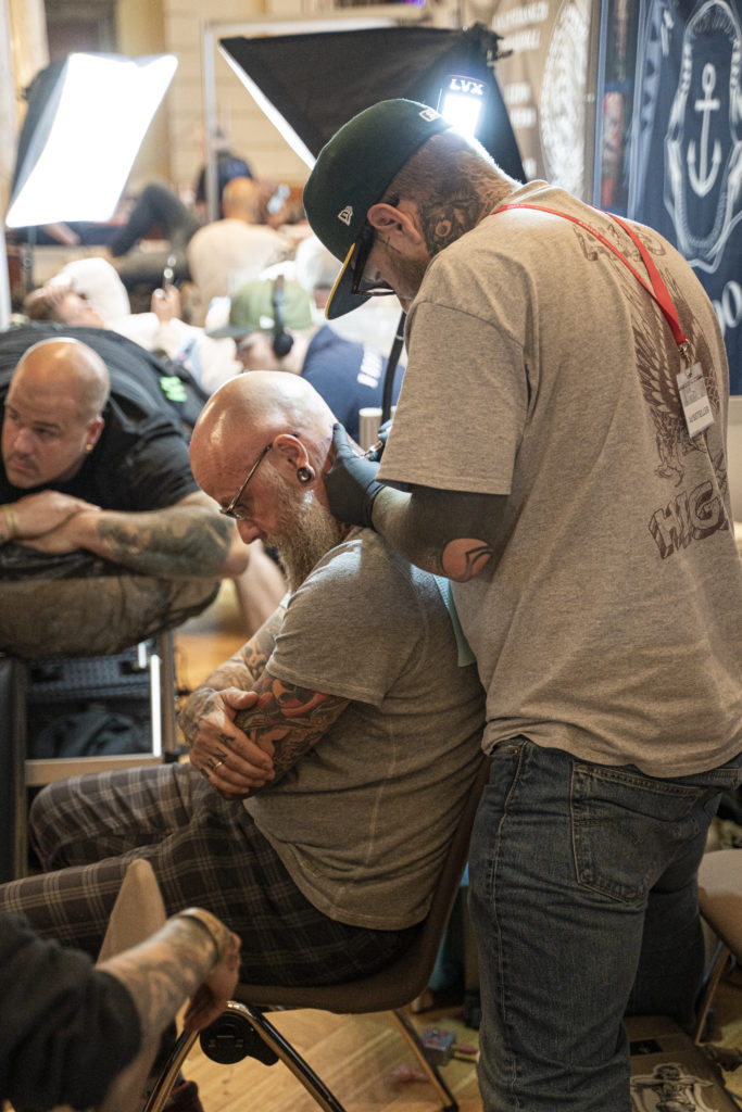 Impressionen von der Wuppertaler Tattoo Convention (Foto: Angry Norman - Photography)