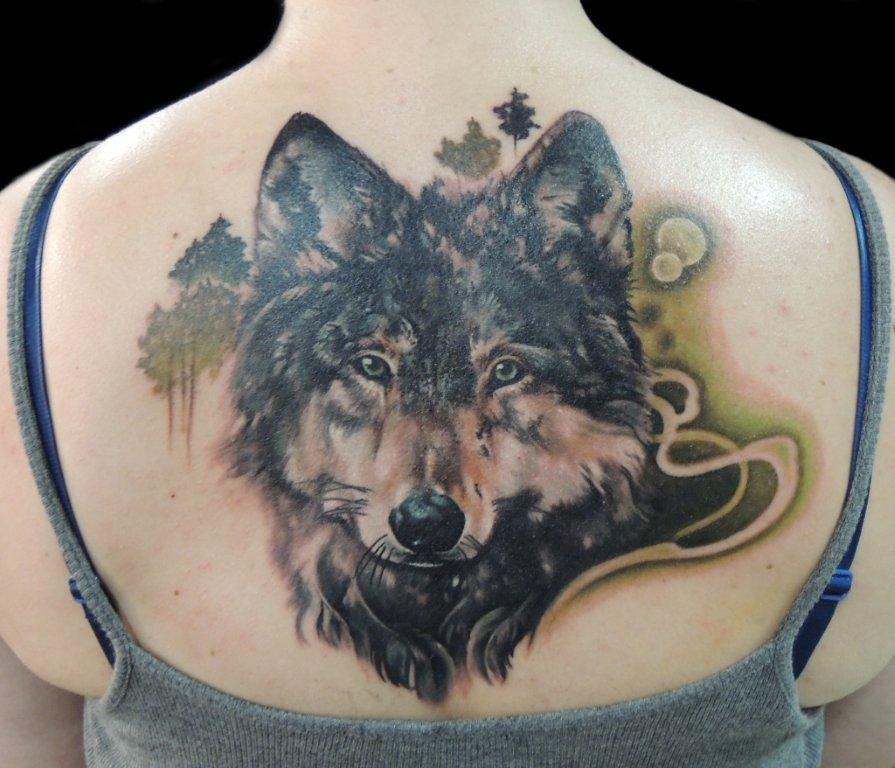 Wolftattoo (Foto by Christiane Buyx)