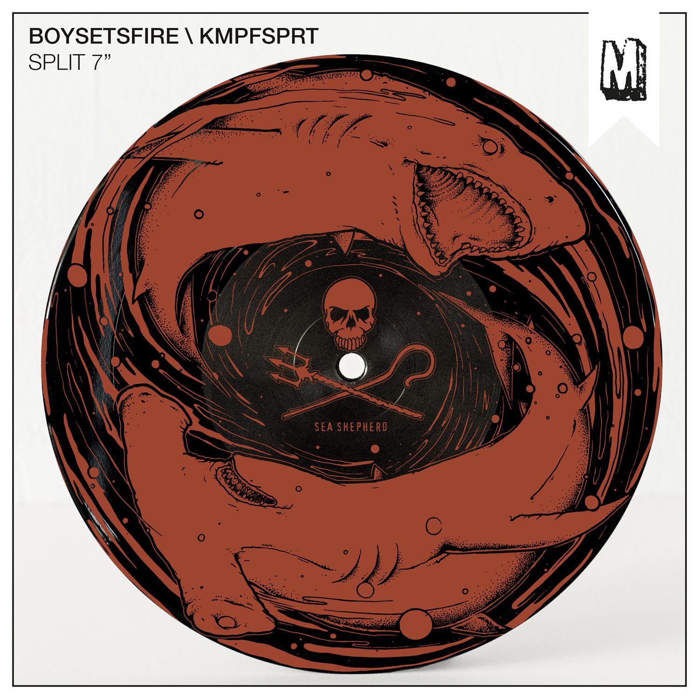 Split-7-Inch Boysetsfire/Kmpfsprt