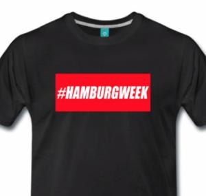 #HAMBURGWEEK - das neue Hashtag-Shirt von REPORTINK!