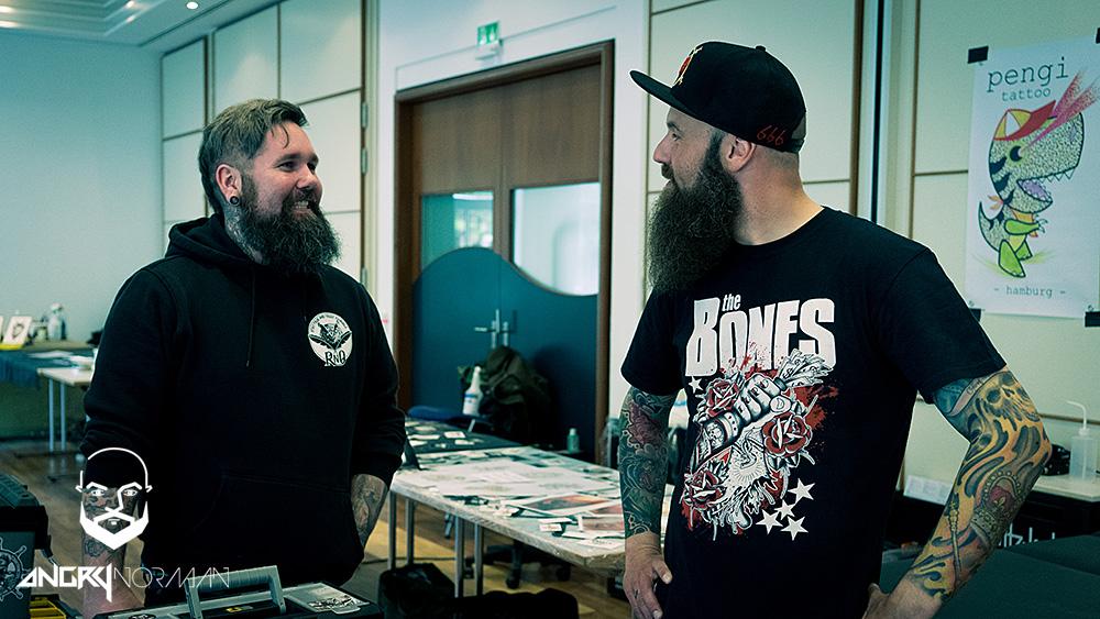 Impressionen vom 8. Spiekerooger Tattoo-Treff (Photo: Angry Norman)