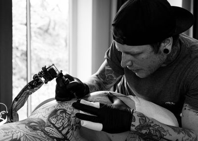 Impressionen vom 8. Spiekerooger Tattoo-Treff (Photo: Angry Norman)