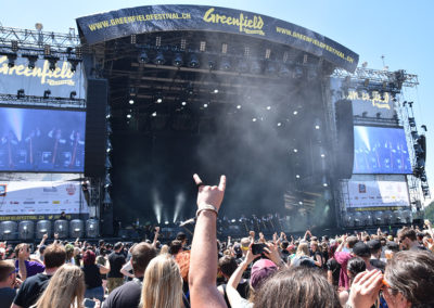 People of Greenfield Festival 2019 (Foto: Stefan Großheim)
