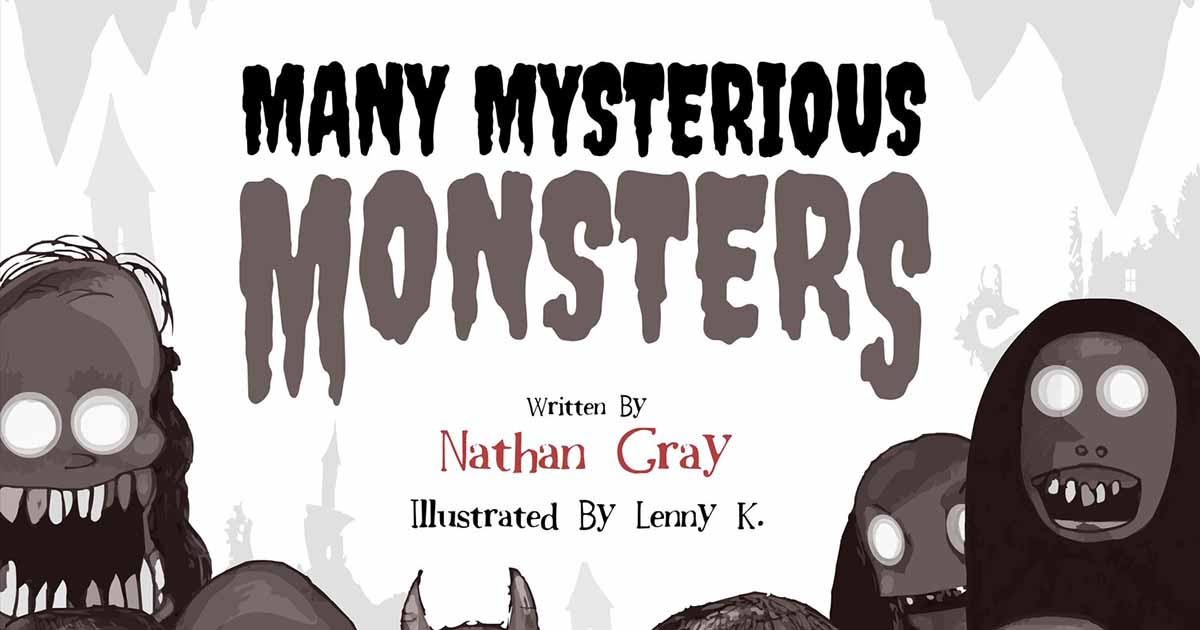 Karolins Bookclub: Many Mysterious Monsters – Nathan Gray