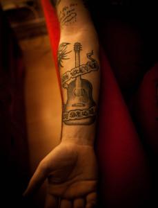 John Allens erstes Tattoo (Photo: AngryNorman)