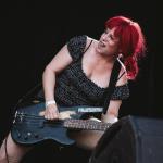 L7 auf dem Nova Rock 2015 (Foto by Milena Zivkovic)