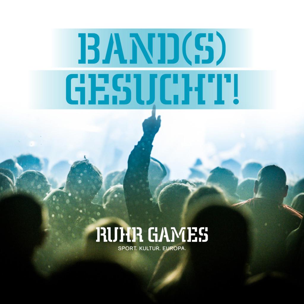 Ruhr Games - Band(s) gesucht!