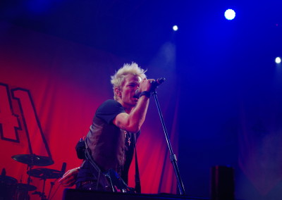Sum 41 auf dem And There Come The Wolves Festival (Foto: Sarah Peterko)
