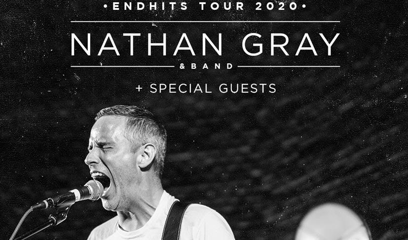 End Hits Records Tour 2020 – mit Nathan Gray (samt Band)