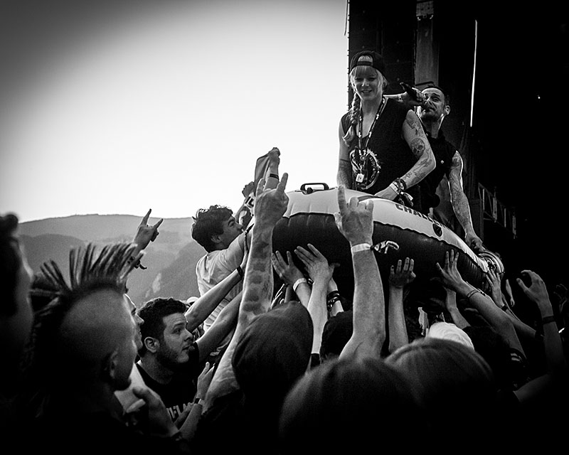Die Donots auf dem Greenfield Festival 2017 (Foto: Angry Norman - Concert Photography)