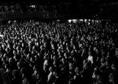 Volles Haus bei Tolle Stimmung bei Hot Water Music in der Großen Freiheit 36 in Hamburg (Foto: Angry Norman - Concert Photography)
