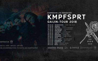 KMPFSPRT kündigen Headliner-Tour an