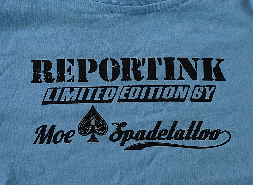 Reportink goes Asia - limited edition T-Shirt