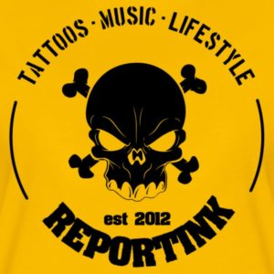 Reportink Skull - neues T-Shirt im Shop!