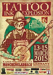 Tattoo Ink Explosion 2015, Mönchengladbach