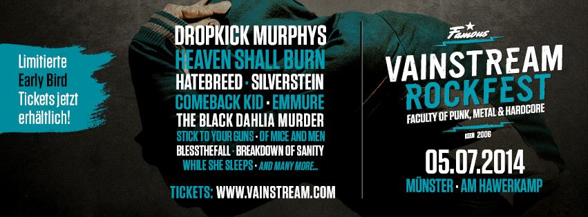 Vainstream Rockfest 2014