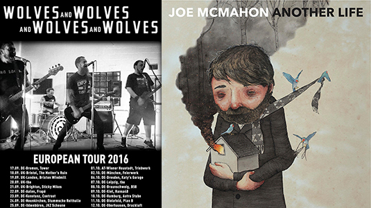 AngryNormans Jukebox: Wolves & Wolves & Wolves & Wolves und Joe McMahon